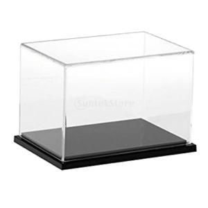 アクリル ディスプレイボックス 展示ボックス ショーケース アクションフィギュア用 全4選択 - ホワイト, 12x12x12cm