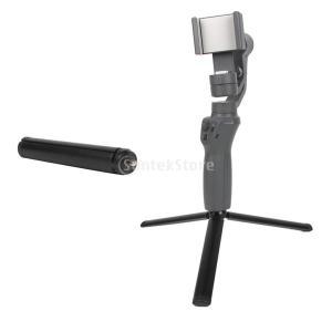説明:  OSMO Mobile 2用ミニ三脚スタンドホルダーブラケット固定低角撮影に適していますス...