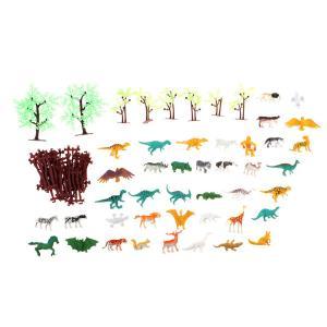 説明:このシミュレーション動物園モデルには68個のおもちゃが含まれています(木、フェンス、すべての種...