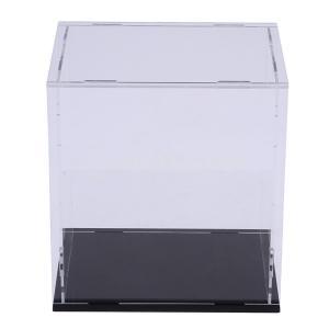 説明:アクリル透明ディスプレイショーケース防塵ボックス大型保護ケースアクションフィギュア飾りクリアで...