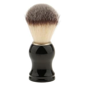 メンズ 男性用 シェービング ブラシ 髭剃り ソフト ナイロン ABSハンドル プレゼント 父の日 誕生日 2サイズ選べ - 105mm|stk-shop