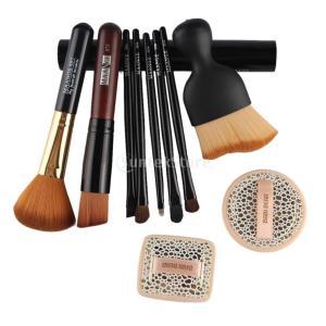 説明: おしゃれな化粧ブラシとスポンジパフセット合計10個優れた素材で作られ、あなたの顔の肌に安全で...