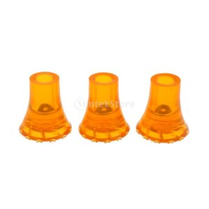 Baosity 滑り止めチップ 3個入り 黄色 滑り止め 耐摩耗性  ゴム製 テーブル 椅子 19mm/22mmベース直径 2サイズ選べ - 19 mm|stk-shop