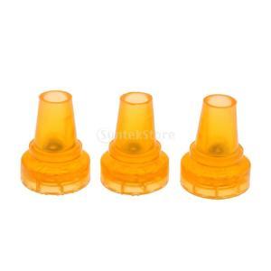 Baosity 滑り止めチップ 3個入り 黄色 滑り止め 耐摩耗性  ゴム製 テーブル 椅子 19mm/22mmベース直径 2サイズ選べ - 22 mm|stk-shop