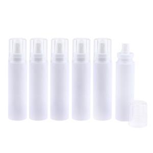 説明: 空のプラスチック製の香水化粧スプレーボトルファインミストスプレー容器旅行用詰め替え式。 美容...