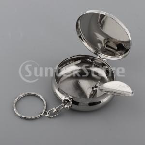 シガレットホルダー01とポータブルミニトラベルポケット財布灰皿キーホルダー