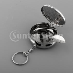 シガレットホルダー04とポータブルミニトラベルポケット財布灰皿キーホルダー