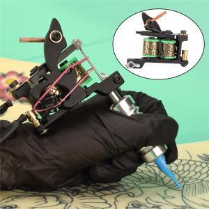 タトゥーコイルマシンガン8ラップライナーシェーダー鋳鉄フレーム高精度G|stk-shop