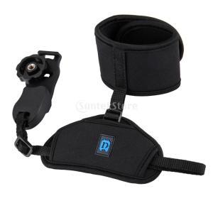 説明: 便利で持ち運びやすい手首固定用ストラップは、SLR / DSLRカメラで動作します。 リスト...