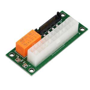 24ピン デュアル パワー マルチパワー 同期式 スタータボードエクステンダカード 電源ボード|stk-shop