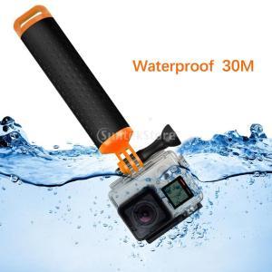 説明: スポッティンググリップとリストストラップ:ハンドラの浮遊ボディは、カメラとアクセサリを水面に...