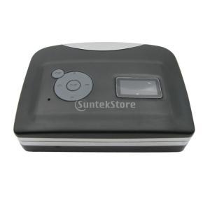 USB カセットテープ→ MP3 PC コンバーター キャプチャ ステレオ オーディオ 音楽プレーヤー 小型 軽量 携帯便利