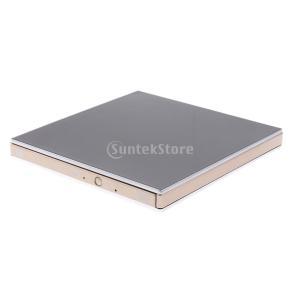 外付け DVD VCD CD ドライブ USB バーナー ライター ドライブ プレーヤーハイスピード...