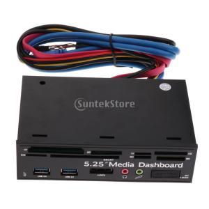 説明: 名前:デスクトップオプティカルドライブ多機能パネルモデル:LM72 材質:ABS ライン長:...