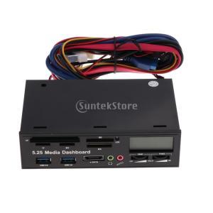 説明: 名前:デスクトップ光学ドライブの多機能パネルモデル:LM71 材質:ABS 線長さ:460 ...