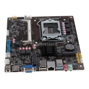 Homyl H81 オールインワン デスクトップ マザーボード USB2.0 SATA PCI-E DDR3 MINI ITXマザーボード