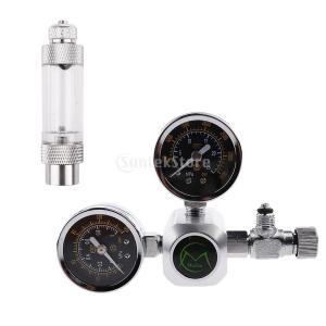 説明: 減圧圧計を調整して安定した正確なCO2出力を提供する。  CO2の微調整のための精密ニードル...