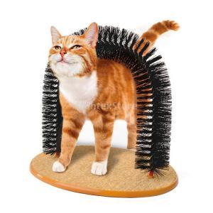 説明: あなたの猫に快適なマッサージを提供しながら、脱毛の髪を取り除くようにデザインされた耐久性のあ...