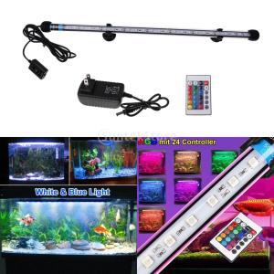 説明: 魚のタンクライト、水抵抗、簡単操作、より高い光度; 安全で信頼性の高い、12V低電圧出力、選...