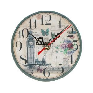 SunniMix 多種類選べる 高品質 木製 壁掛け 時計 ラウンド アンティークレトロ 素晴らしいギフト  - 9#|stk-shop