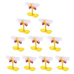説明: 真新しく高品質 360度水を節約する自動鶏の水を飲むカップは、カップを掛けてダブル乳首のとき...