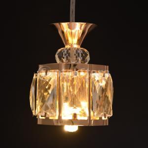 説明: ゴールドメッキのランプボディ、クリスタルのハイエンド製品、ランプが点灯しているときに、クリス...