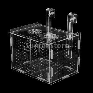 説明: ハンガーで、どこでもタンクに固定して便利。 多機能絶縁ボックス:絶妙な技量、透明性とコンパク...