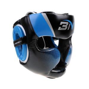 説明: プレミアムPUレザー製 - 超耐久性このボクシングヘルメットは、3層のゲルを充填した厚いフォ...