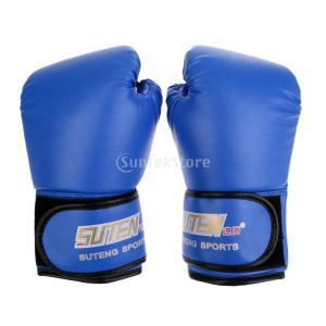 1ペア PU  ボクシング   手袋  ミット  MMA  ムエタイ  パンチング  トレーニング ...