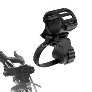 2本セット 自転車 懐中電灯マウント クリップ...の詳細画像5