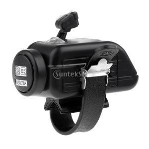 ロッド用 バイトアラーム 釣りアラーム ブザー センサー 魚当たりを知らせ 調整可能 光と音機能