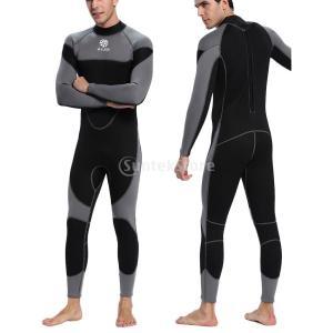 説明: 3mmの防水性と通気性のあるネオプレンの全身用ウェットスーツは、快適で安全な水上軽量で強い ...
