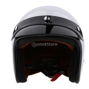 説明: リムーバブルバイザー付き3/4オープンフェイスオートバイヘルメット;高品質の3/4オートバイ...