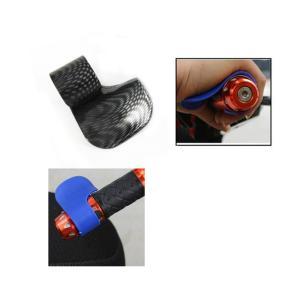Dovewill バイク 汎用 長 距離 運転 スロットルアシスト 指、手首、腕 疲れ 解消 スロットル ホルダー 長 距離  ツーリング 必需品  全5色 - 黒