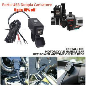 SONONIA オートバイ用 デュアル USBポート 携帯電話 充電器ソケット 電源スイッチ付き|stk-shop