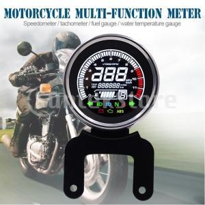 説明: オートバイ多機能全液晶計器12000rpmタコメーター優秀なABS材料、敏感で滑らか、安全お...