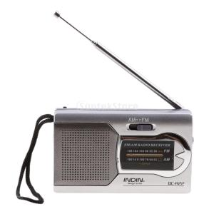 SONONIA ポケット ポータブル ミニ AM/FMラジオ スピーカー 世界受信機 伸縮アンテナ 携帯便利 使いやすい 釣り/登山/フィッシング適用|stk-shop