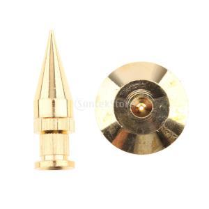 Fenteer M6 * 36 ベースパッド スピーカースパイク  ベースパッド ゴールデン 銅|stk-shop