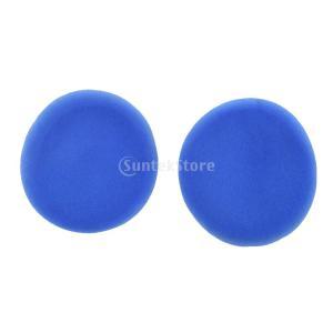 ロジクールUE3000 UE3100ヘッドフォン用 高品質スポンジ  交換  クッション イヤパッド 全3色 - 青|stk-shop