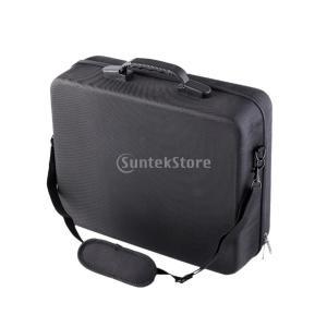 ブラック HTC VIVE Pro用 バーチャル リアリティ ヘッドセット キャリー プロテクティブ...