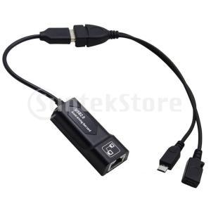 RJ45 8P8Cイーサネットアダプター、ネットワーキングコンバーター、USB 2.0およびマイクロ...