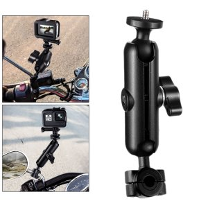 GoProHeroバックミラーロッド用アルミニウムバイク自転車カメラマウントホルダー|stk-shop