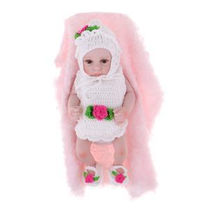 説明:この26cmの実生活の新生児の女の子の人形は、安全で環境に優しいビニル/シリコーンで作られてい...