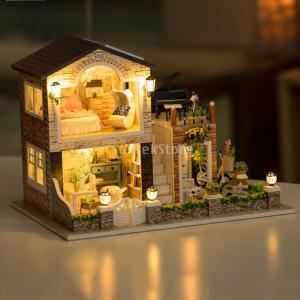キッズ DIYドールハウス玩具 ミニチュア 工芸 手工製品 知性開発おもちゃ 5色選択でき - #2