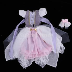 説明: 妖精のパーティードレスドレス半袖グレートップドール用服アクセサリードルフィーと他の同様のサイ...
