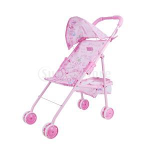3サイズ選択 遊びおもちゃ 赤ちゃん人形 リボーンベビードールキャリッジ ベビーカー お世話パーツ - #1