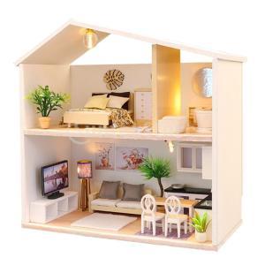 1/24ドールハウス モデル DIY工芸品 組み立て玩具 ミニチュア