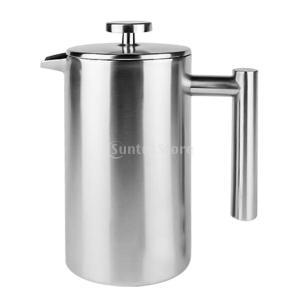 SunniMix スステンレス鋼 コーヒーポット コーヒーフィルター メーカー コーヒープレス 全3容量選べる - 500ml|stk-shop