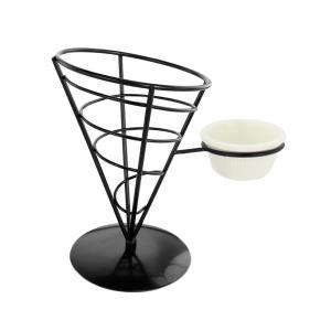 フライドポテト French Fryホルダー バスケット ホルダー 耐久性 全2種 - シングル|stk-shop