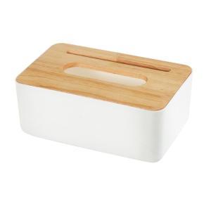 全4種 シンプル ペーパー ナプキン ティッシュボックスホルダー 紙ナプキンケース 携帯電話ホルダー 木製  実用的  - #4 stk-shop